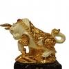 วัวมงคลทองทะยานไกล ตัวเเทนความอุดมสมบูรณ์
