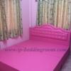 เตียงฐานทึบ สีชมพู TP Luxury Bed