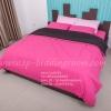 ชุดผ้าปูที่นอนสีพื้น 3.5 ฟุต + นวมเย็บติด ( 4 ชิ้น)