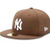 หมวก New Era ทีม New York Yankees รุ่น 59Fifty (Size 7 1/2 59.6cm) สีวอลนัท