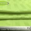 ชุดผ้าปูที่นอนโรงแรมลายริ้ว สีเขียวมะนาว 6 ฟุต