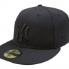 หมวกNew Era NY Black on Black 59FIFTY (Size 7 1/2 59.6cm)
