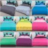ชุดผ้าปูที่นอนสีพื้น 7 ฟุต (ไม่มีนวม)