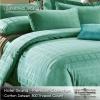 ชุดผ้าปูที่นอนทอลายพิเศษ สีเขียว 3.5 ฟุต (5 ชิ้น)