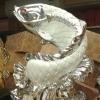 ปลาหลี่ฮื้อเกล็ดเหรียญเงินเล่นน้ำโชคลาภ เหลือกินเหลือใช้อุดมสมบูรณ์ ร่ำรวยเงินทอง