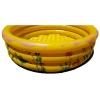 สระน้ำเป่าลม ลายเพื่อนรักใต้ทะเล (สีเหลือง) ขนาด 100 cm ขอบ 3 ชั้น แถมฟรีห่วงยางคอเด็ก