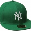 หมวก New Era New York Yankees Kelly 59FIFTY (Size 7 1/2 59.6cm) สีเขียว