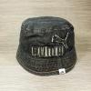 หมวกแบรนด์ Puma ทรง Bucket ผ้ายีนส์ Denim ( ไซส์ 57-61cm )