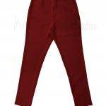 ขายาว-ทรงเรียบ ขาเดฟ สีแดงเลือดหมู