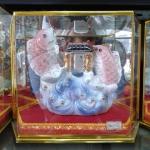 ปลาหลี่ฮื้อเล่นน้ำบนดอกโบตั๋น ค้าขายร่ำรวย