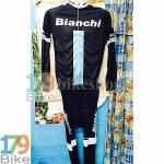 ชุดจักรยานแขนยาว ฺBianchi 2015 ดำเขียว