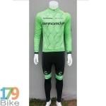 ชุดจักรยานแขนยาว Canondale 2016 สีเขียว