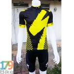 ชุดจักรยานแขนสั้น Specialize 2016 สีดำเหลือง