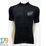 เสื้อปั่นจักรยานแขนสั้น MAAP สีดำ