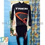 ชุดจักรยานแขนยาว Terk 2015 ดำแดง