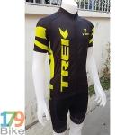ชุดจักรยานแขนสั้น Terk2016 สีดำเหลือง