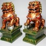 สิงโตมงคลคู่ 3 กษัตริย์ ราชาโชคลาภวาสนา