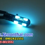 LED-T10-5730-12SMD แสงสี Ice blue