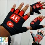 ถุงมือโปรทีม 3T ดำแดง