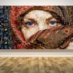กรอบลอยแคนวาส Photo Mosaic