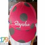 หมวกแก๊บ Rapha สีชมพูดำ