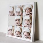 กรอบลอยแคนวาส Photo Collage 9 รูป คลิ๊ก!
