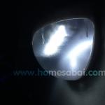 โคมไฟกำแพง โซล่าเซลล์ 6 LED