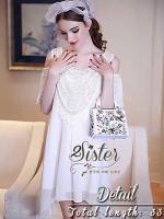 Pink & White Luxury Sexy Dress