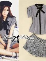 Lady Chiara Smart Chic Ribbon and Check Set