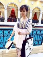 Cassandra Shirt Dress Mini Dress