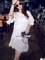 Korea Luxy Premium Lace Dress