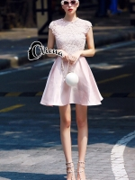 Luxury Pinky Chanel Dress