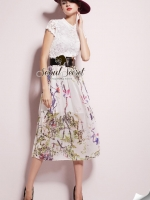 Fashionista Forest Skirt LongDress