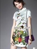 Butterfly Garden Flora Dress