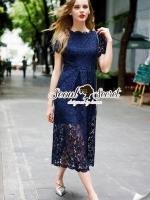 Luxy Princess Lace Maxi Dress