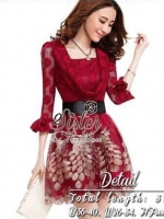 Vintage Dress with Little Beauty Belt