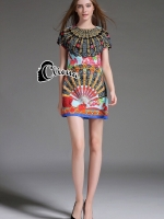 Cliona made' DG Nippon Range Luxury Dress