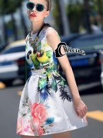 Urban Amazon Parrot Dress