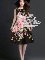 Dolce & Gabbana flowers and the owl dress