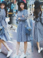 Sevy Scott Korean In Town Midi Dress