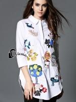 DG Luxury Garden Party Shirt Dress