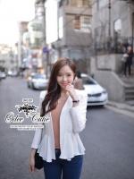 White marine blazer