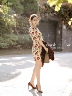 Lina flower Dress
