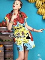 "Vivivaa recommend ""Summer nifty colorfull dress shirt"" Fabric : เนื้อผ้าโพลีเอสเตอร์เนื้อสวยอย่างดี Detail : เก๋ๆ ด้วยทรงเดรสเชิ้ต มีดีเทลชิคๆ อยู่ที่งานพิมพ์ลายดอกไม้แบบ Colorful โทนสีสดสวยน่าใส่มากคะ งานพิมพ์สีสดสวย เติมความเก๋ด้วยเข็มขัดเข้าเ"