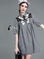 Chanel Pearl Square Shirt Dress
