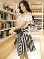 Black&white casual set