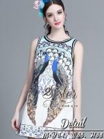 white Fancy Lady Dress