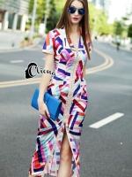 Joy Colorfull Life Luxury Dress