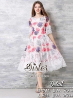 SpringTime of Girly Vintage Flower Dress