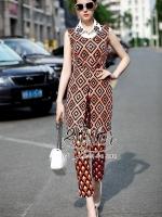 Lady Summer Luxury sleeveless Set